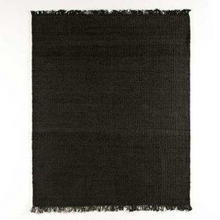 Alfombra Yute Negro 200X250 cm.