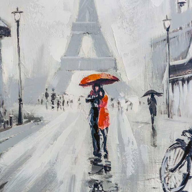 Pintura París detalle