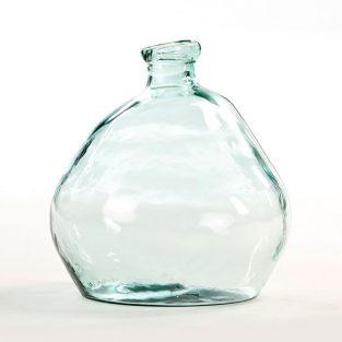 Jarrón Asimétrico Cristal Reciclado