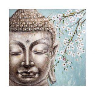 Cuadro pintado a mano Buddha