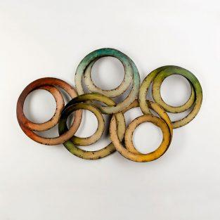 Escultura Aros Multicolor