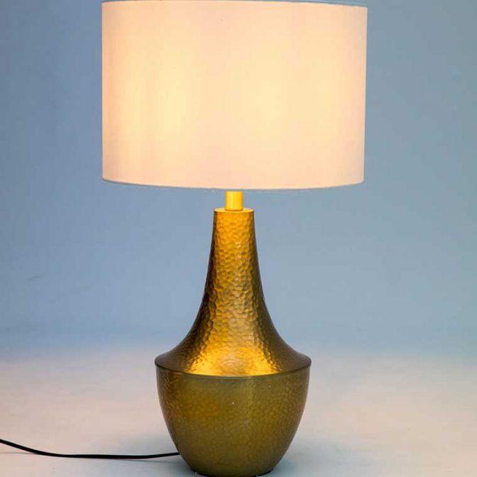 Lámpara de Mesa Oval detalle luz