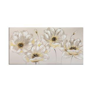Pintura Flores Blancas
